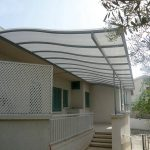 Metal Framed Pergola