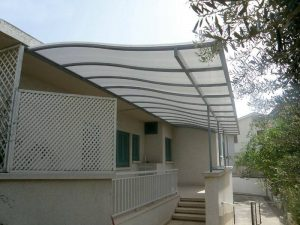 Metal Framed Pergolas